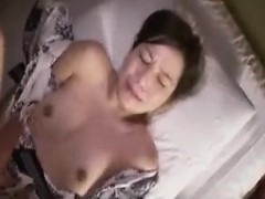 Lustful Asian Housewife With A Lovely Ass Gets Fucked By A