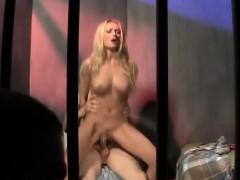 Blonde Starlet Has Her Orgasmic Twat Plowed