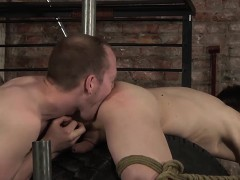 Sean Gives Rough Treatment To Xavier And Slides His Cock In