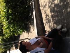 Massive Boobs Sitting Down Kimberlee