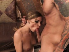 Perfect Ass Brunette Licked And Fucked Hard Sydney Cole