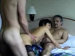 German Adult Fucks With 3 Friends