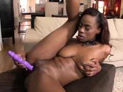 Ebony Beauty Tori Taylor Masturbating Solo