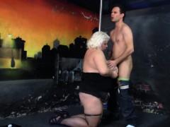 He Doggy fucks Super Huge Tits Blonde Bbw