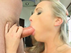 Kristal Kaytlin getting a dick deep in ass for anal on Ass