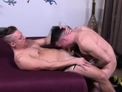 Muscle Gays Anal Sex And Cumshot