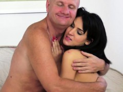 Oldman Pounds Eurobabe In Various Poses
