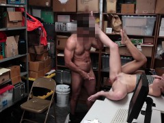 Shoplyfter Teen Thieves Suck Cock And Get Fucked