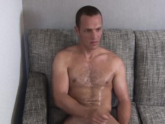 Gym Freak Tyler Marshall Enjoys His Solo Wanking Time