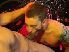 Hot Gay Fisting And Facial Cum
