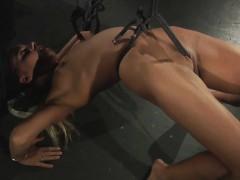 Live Bdsm Rough Punishment Kinky Bondage Threesome Fuck