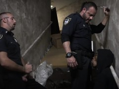 Free Gay Cop Movie Xxx Suspect On The Run, Gets Deep Dick Co