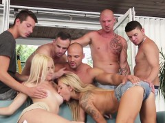 Assfucked Hunks Enjoying A Bisexual Orgy