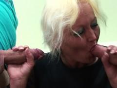 two-boys-screw-old-granny-teacher-on-the-floor