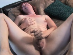 ginger-trans-jerking-solo-on-casting-couch