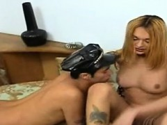 Latina Tranny Drills Guy