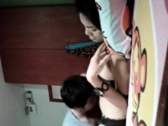 Horny Amateur Masked Asian Girl Toying Her Pussy On Cam