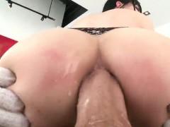 Stunning Sex Kitten Displays Huge Ass And Gets Butt Hole Sha