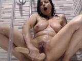 Lustful Milf Fucks Her Nasty Ass With A Dildo