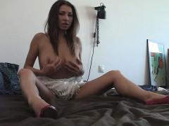 desirable-babe-reveals-her-big-tits-and-masturbates