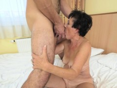 Ass Rimming Fetish Granny