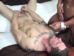 Big Dick Gay Seduction With Facial