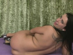 Lonely Girlfriend Enjoys Fooling Around By Getting Naked