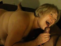 Granny Cum Sucker