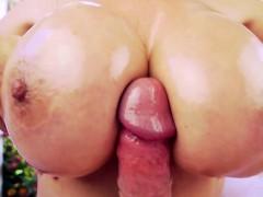 Cocksucking Milf Tittyfucks In Outdoor Pov