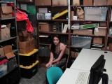 Shoplifter Avi Love got fucked in the office