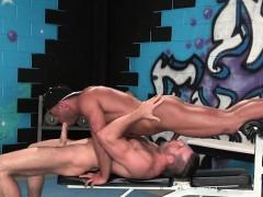 Gay muscle cum inside