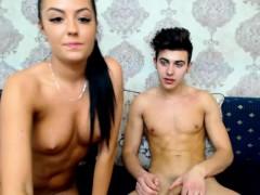 Hard Anus Masturbation Onto Webcam