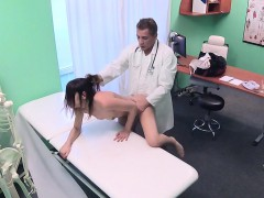 Doctor Bangs Slim Long Legged Patient