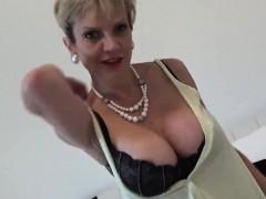 Unfaithful British Milf Gill Ellis Displays Her Oversized Me