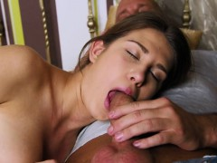 Cute Teenie Gapes Pink Slit And Gets Devirginized