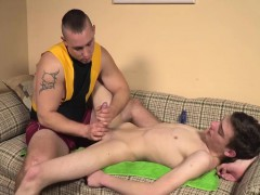 Sexy Skinny Twink Gets Massaged And Cock Blown By Stud