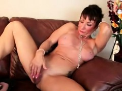 Anne Is A Sexy Brunette 50 Year Old Housewife With An