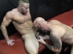 Big Bald Bears Having A Fuck Session In A Kinky Dungeon