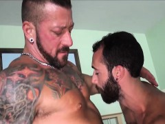 Sexy Hugh Hunter And Stephen Harte Fucking In Hotel Room