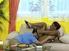 african babe gets shaved cunt licked and fucked