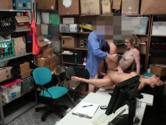Teen Thieves Fucked By A Security Guards Hard Cock