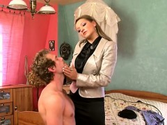 Sexy Female dom Gives Facesitting