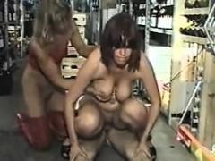 German Mom Piss Fuck In Store. See Pt2 At Goddessheelsonline