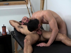 Big Dick Jock Flip Flop And Massage