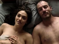 emmy rossum tits in a sex scene