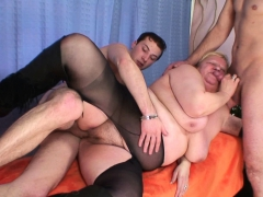 busty-granma-in-stockings-swallows-two-cocks