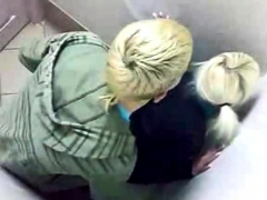 Caught Fucking In The Public Toilet