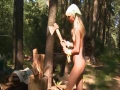 Petite Twenty Teen Loly Naked Outdoors
