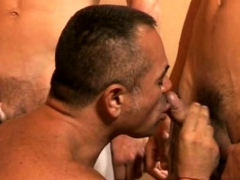 Cock hungry Coach Sucking Off Every Twink Member