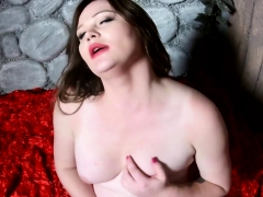 Gorgeous Trans Babe Plays With Her Hard Cock